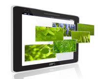 Stylish  touchscreen smartphone Royalty Free Stock Photos