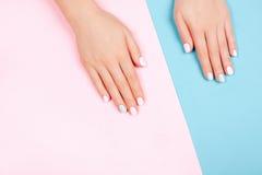 Stylish trendy female manicure Stock Images