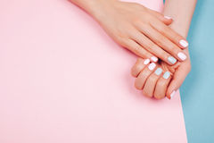Stylish trendy female manicure Stock Photography