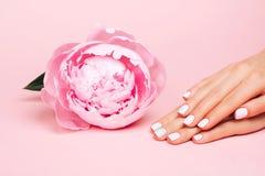 Stylish trendy female manicure Stock Photo
