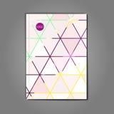 Stylish Vector abstract brochure Stock Image