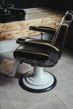 Stylish Vintage Barber Chair Stock Photos