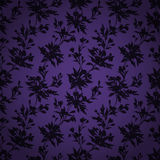 Stylish vintage floral seamless pattern. Contains no transparency. Contains gradients Royalty Free Stock Photo
