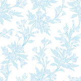 Stylish vintage floral seamless pattern. Contains no transparency and gradients Royalty Free Stock Photography