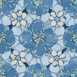 Stylish vintage floral seamless pattern. Stock Image