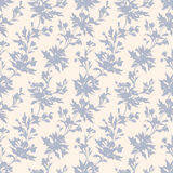 Stylish vintage floral seamless pattern. EPS8. Contains no transparency and gradients Royalty Free Stock Photography