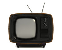 Stylish Vintage Television. Stylish retro TV with blank screen Royalty Free Illustration