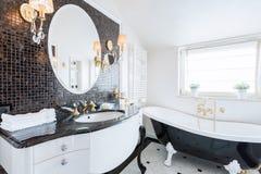 Stylish washroom Stock Image