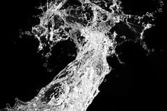 Stylish water splash Royalty Free Stock Photo