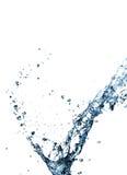 Stylish water splash Stock Image