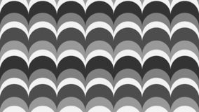 Geometric wavy background in shades of gray stock illustration