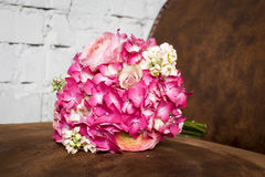 Stylish wedding bouquet Stock Image