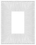 Stylish white Frame Royalty Free Stock Images