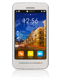 Stylish white touchscreen smartphone Stock Images