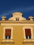 Stylish windows in Belgrade Royalty Free Stock Images
