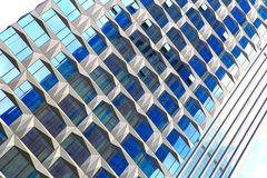 Windows of modern architecture stock photography