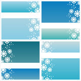 Stylish winter backgrounds Royalty Free Stock Photos