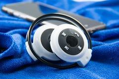Stylish wireless bluetooth Stock Image
