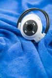 Stylish wireless bluetooth headset Stock Image