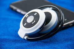 Stylish wireless bluetooth Stock Images