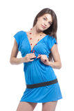 Stylish woman Stock Photography