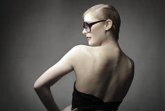 Stylish woman Royalty Free Stock Photos