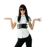 Stylish woman Stock Photos