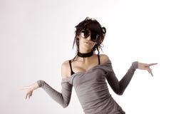 Stylish woman Royalty Free Stock Images
