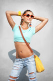 Stylish woman Royalty Free Stock Images