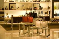 Stylish woman fashion store Royalty Free Stock Photo