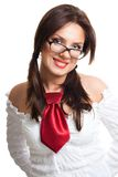 Stylish woman in glasses Stock Photo