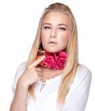 Stylish woman portrait Stock Image