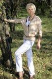 Stylish woman posing Stock Image