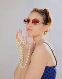 Stylish woman Royalty Free Stock Photos