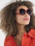 Stylish Woman In Sunglasses Stock Photo