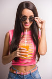 Stylish woman Royalty Free Stock Photography