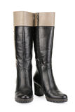 Stylish women's boots Stock Image