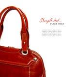 Stylish women's leather bag Royalty Free Stock Image
