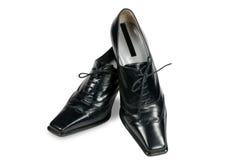 Stylish women's shoes Stock Photo