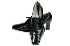Stylish women's shoes Stock Images