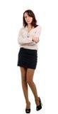 Stylish young brunette woman Royalty Free Stock Photo