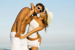 Stylish young couple Royalty Free Stock Photo