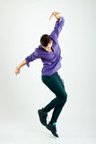Stylish young dancer Stock Image