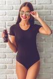 Stylish young girl Stock Image