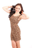 Stylish young girl Royalty Free Stock Photography