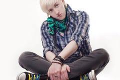 Stylish young guy Stock Image