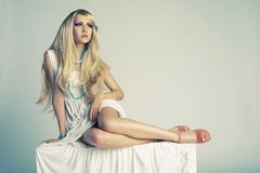 Stylish young lady Royalty Free Stock Image