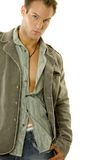 Stylish young male Stock Images