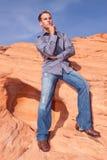 Stylish young man Stock Image