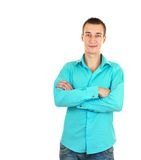 Stylish young man Royalty Free Stock Images